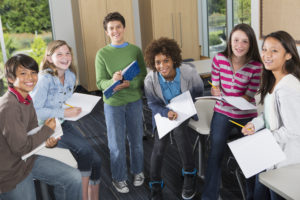 Exam success for young people