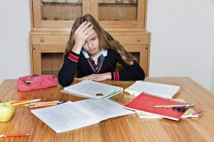 exam stress and anxiety